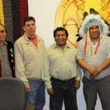 Our Visit with Bolivian Vice Minister of Decolonization, Felix Cardenas